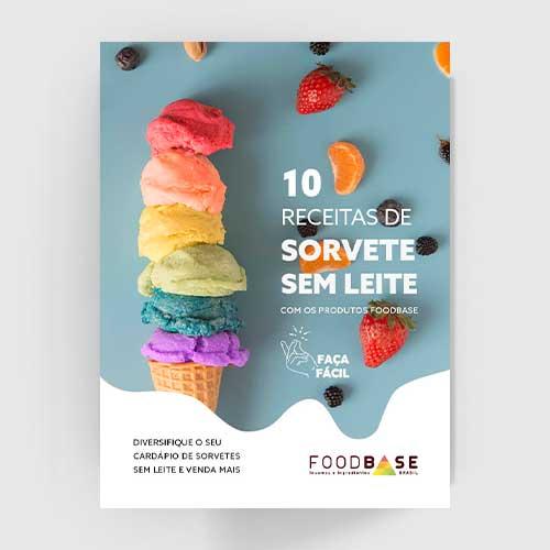 Imagem capa do ebook 10 receitas sem leite
