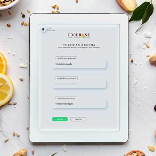 Imagem digital da ferramenta para calcular a receita