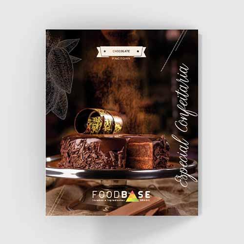 Folder Foodbase Chocolate Factory Especial Confeitaria