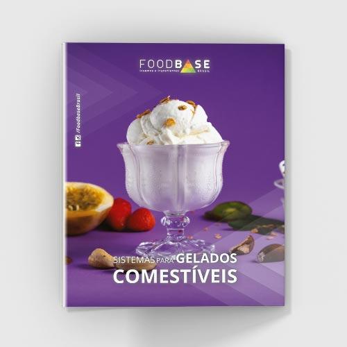 Folder sistemas para gelados comestíveis Foodbase | Folder 2019