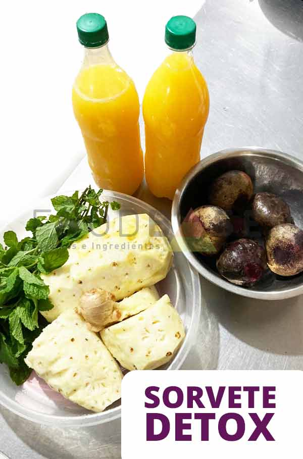 Foodbase - Receita sorvete detox: gostoso e saudável