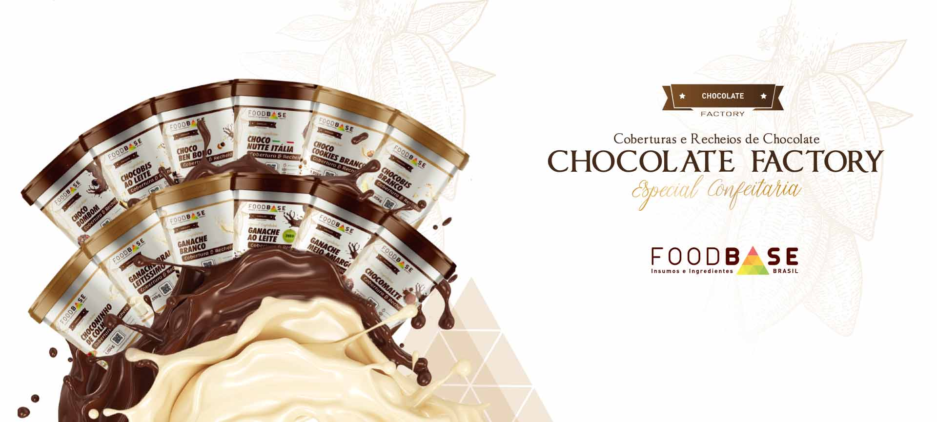 Foodbase - Coberturas e recheios de chocolate Foodbase