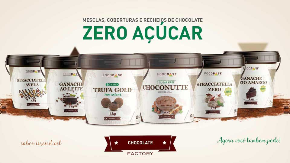 mesclas de chocolate-sem-acucar