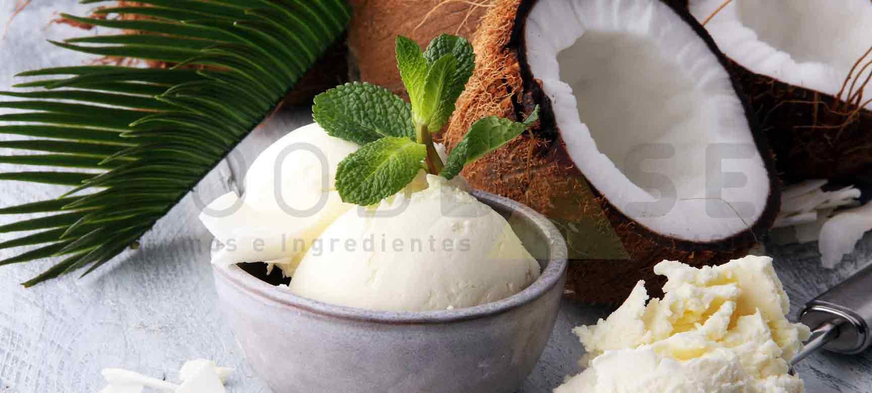 Foodbase - Sorvete de água de coco vegano