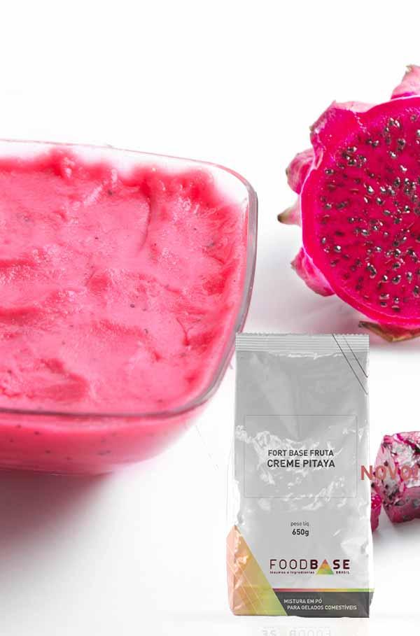 Foodbase - Receita creme de pitaya