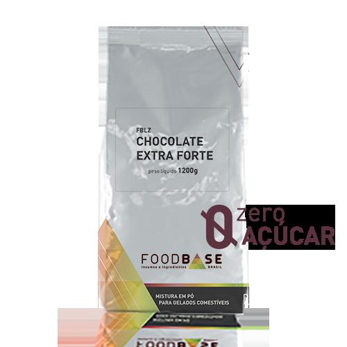 Fort Base Leite Zero - Chocolate Extra Forte