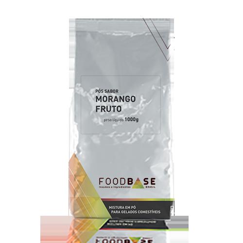 Imagem do saborizante morango fruto da linha premium Foodbase
