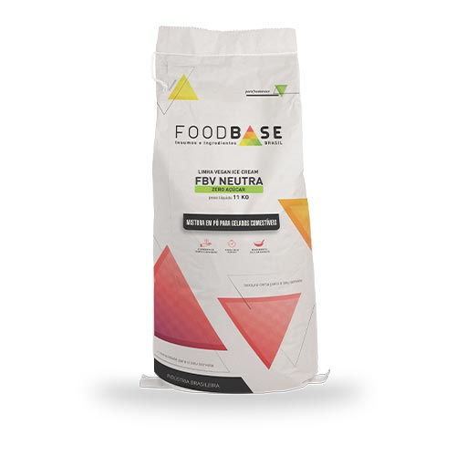 Fort base vegana neutra ZERO AÇÚCAR da Foodbase